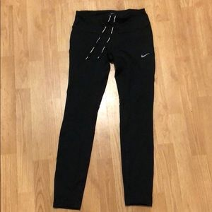 Nike dri-fit running/ work out leggings small
